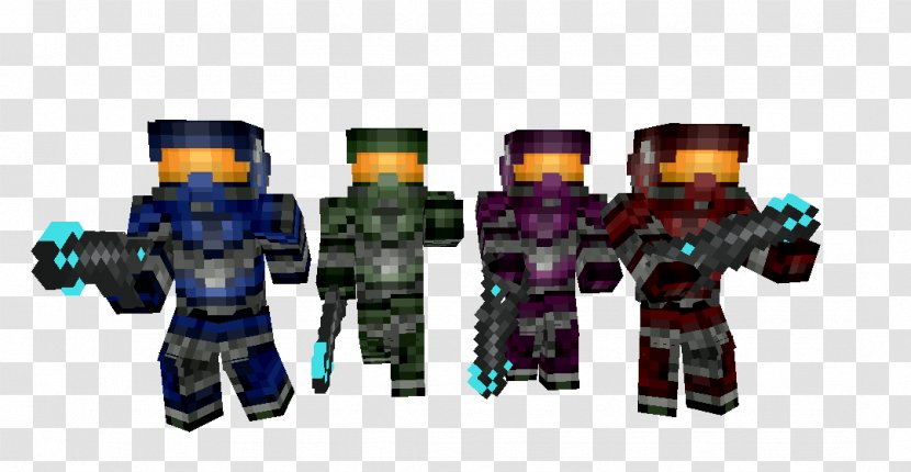 Minecraft Halo 4 Halo The Master Chief Collection Reach Pixel Art Gun Transparent Png