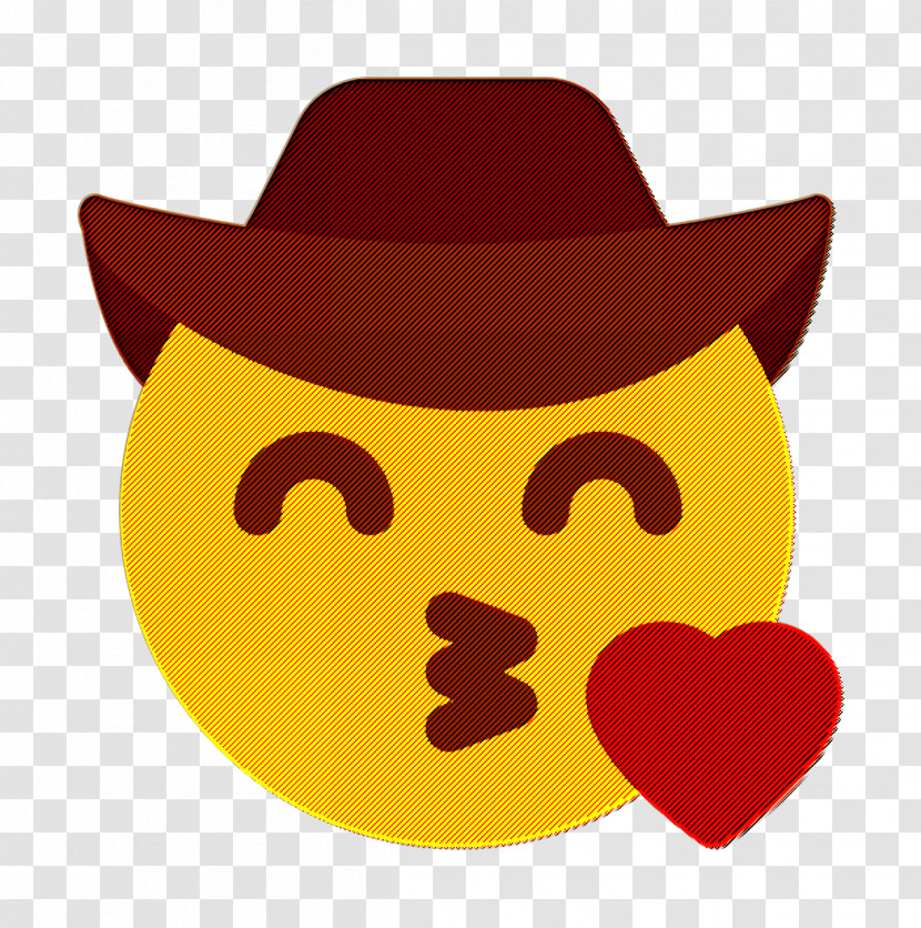 Smiley And People Icon Emoji Icon Kiss Icon Transparent PNG