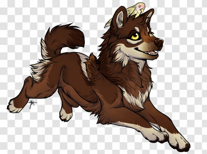 Red Fox Gray Wolf Digital Art Drawing Cartoon Tree Transparent Png