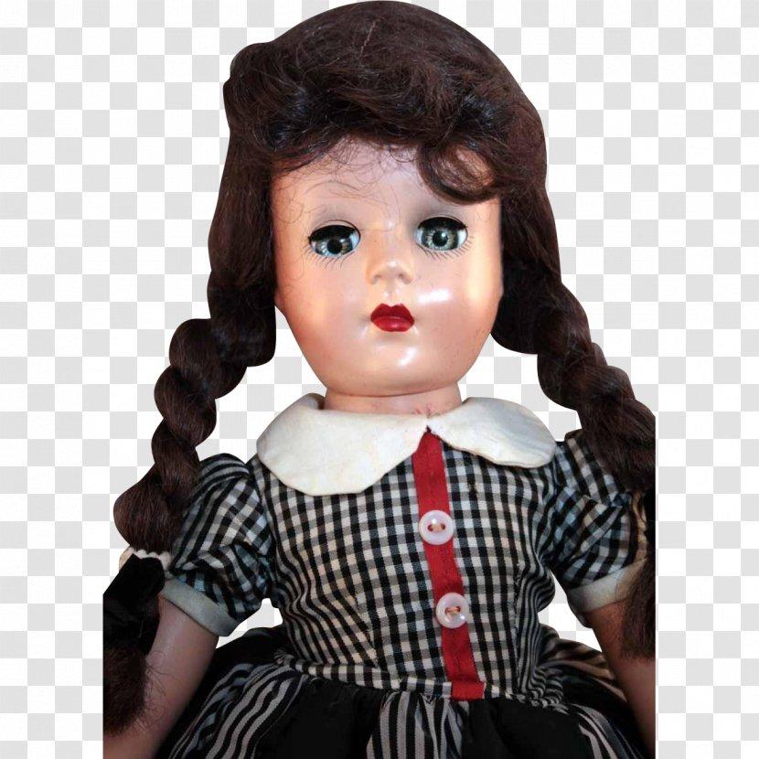 Brown Hair Doll - Toddler Transparent PNG