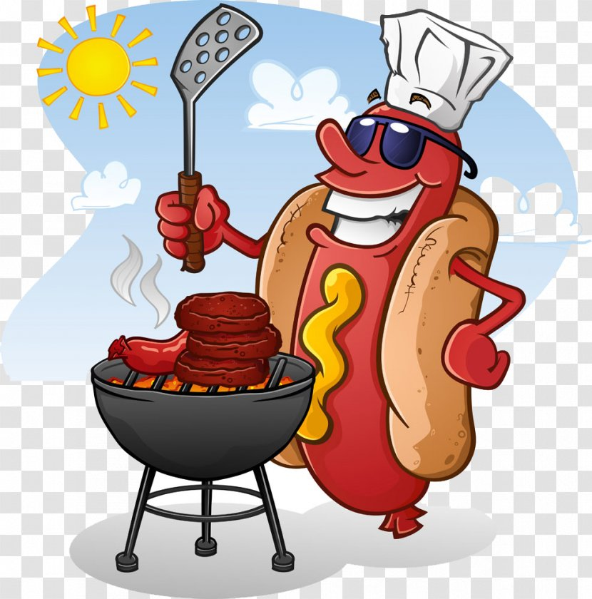 Hamburger Cheeseburger Hot Dog Fast Food Clip Art - Vegetarian - Vector  Clipart Image Transparent PNG