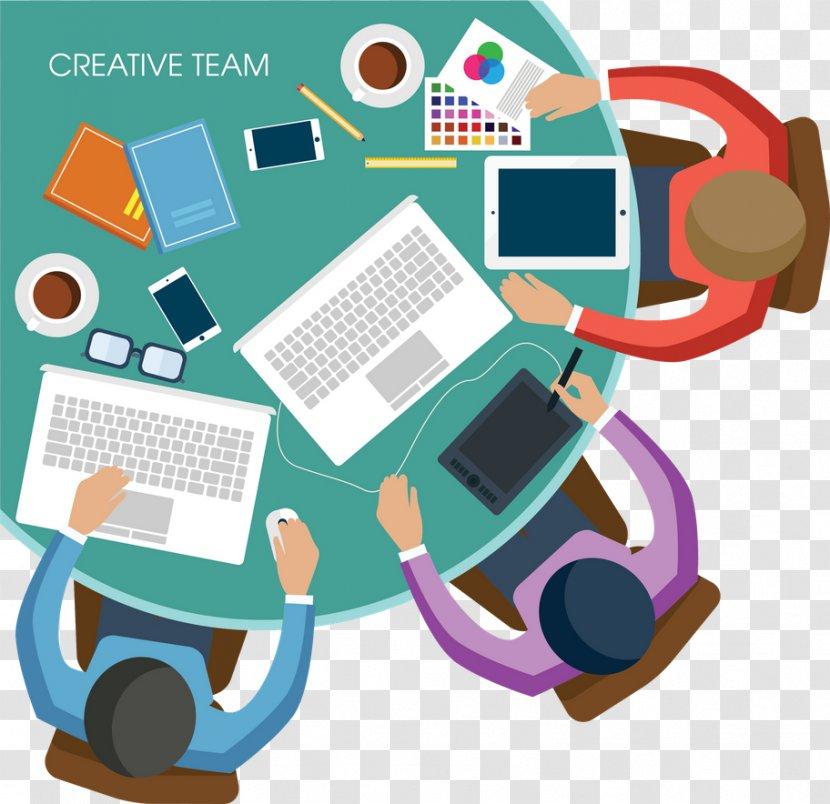 Web Development Creativity Graphic Design Business Human Behavior Entrepreneurial Team Transparent Png