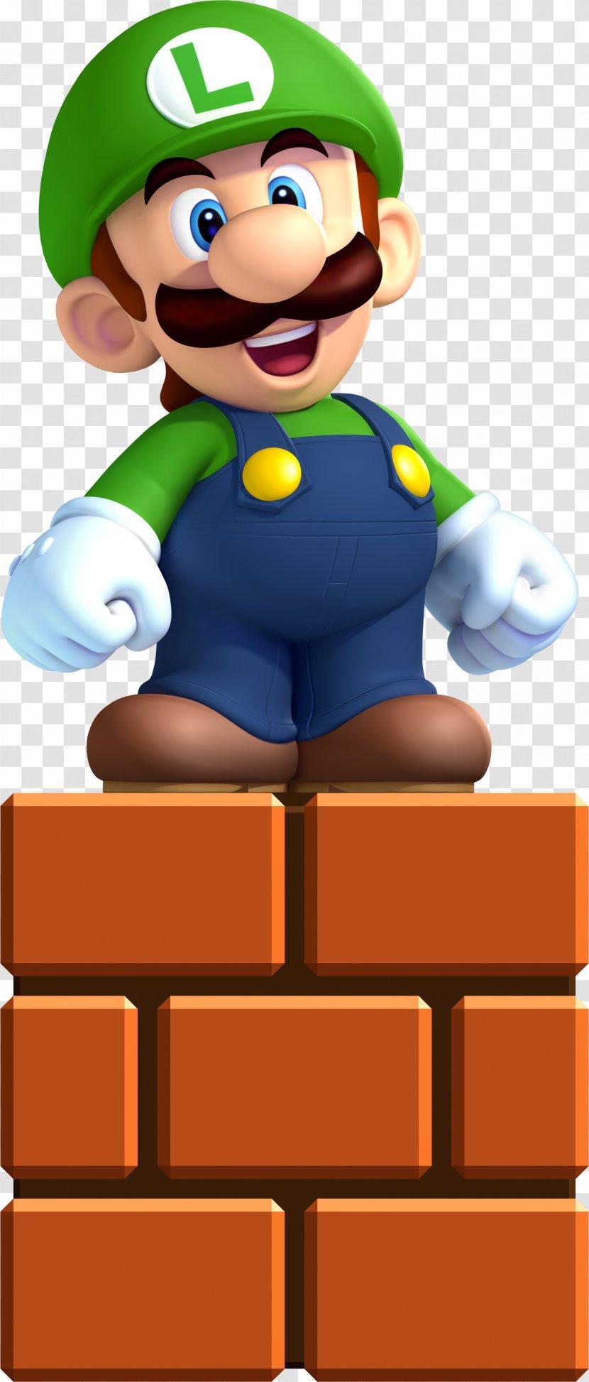 New Super Mario Bros U Luigi Wii Play Transparent Png