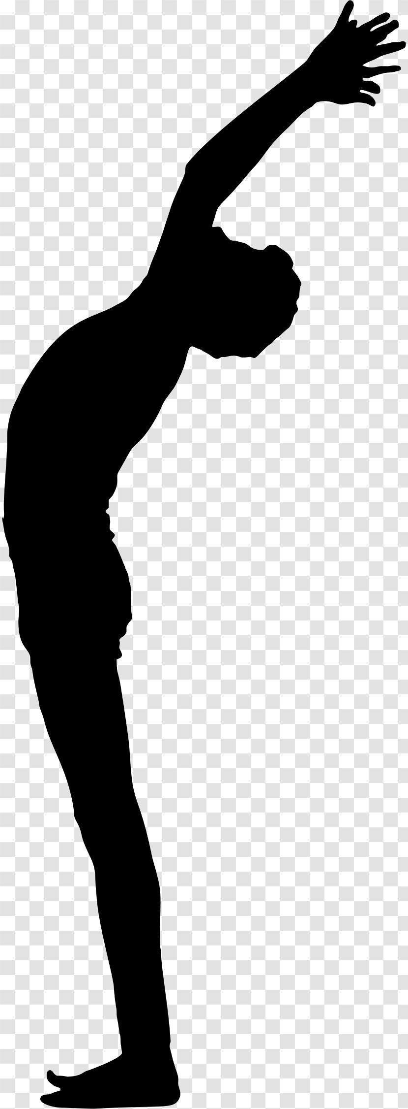 Yoga Silhouette Clip Art - Male Transparent PNG