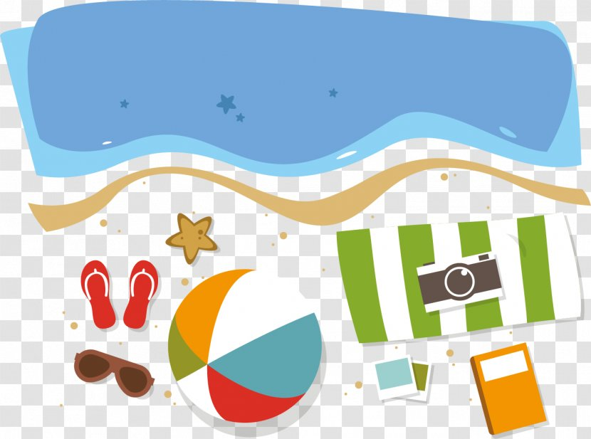 Beach Summer Vacation - Go To The For Transparent PNG