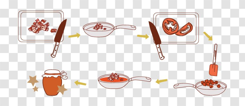 Food Cutlery - Tomato Illustrate Transparent PNG