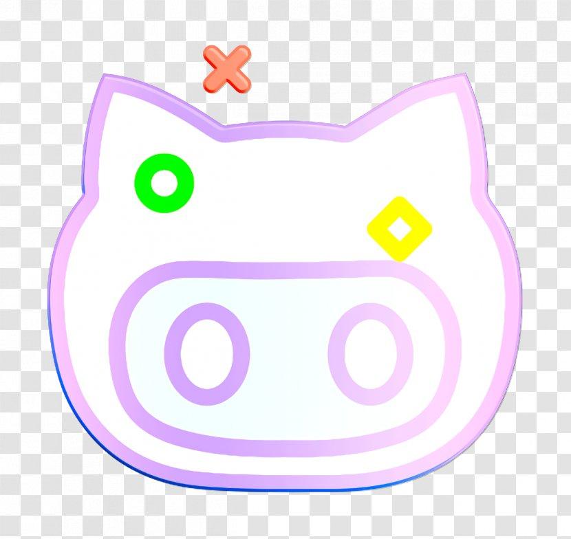 Brand Icon Github Logo Lilac Light Transparent Png