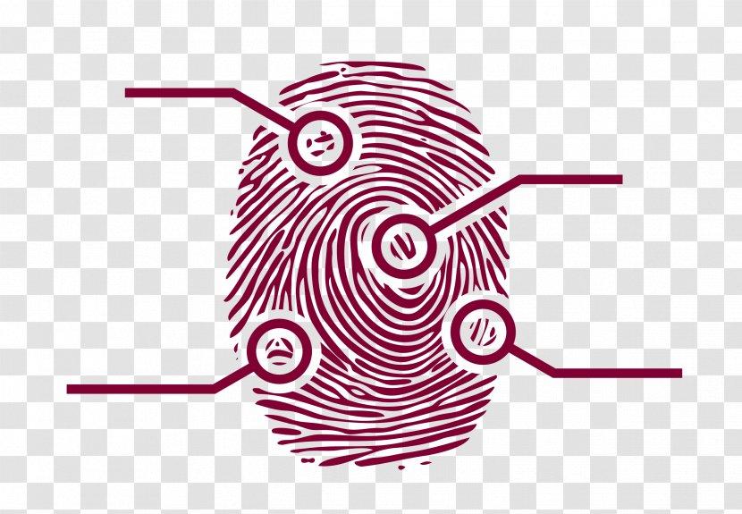 Fingerprint Forensic Science Clip Art Technology Finger Print Transparent Png