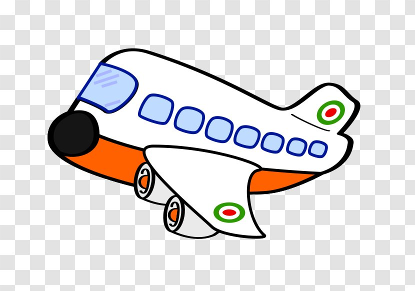 Airplane Cartoon Clip Art Vehicle Travel Plane Cliparts Transparent Png