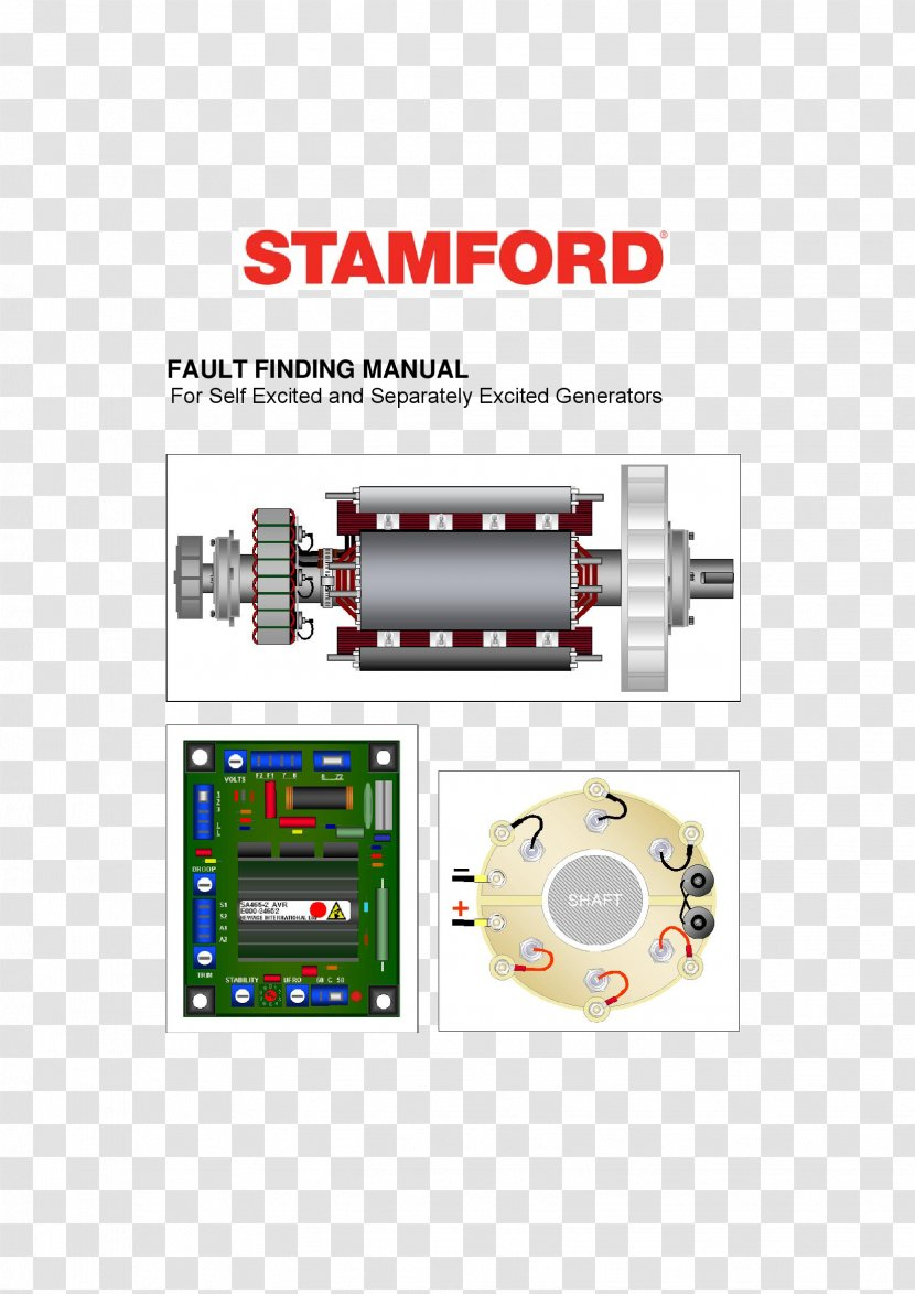 Stamford Wiring Diagram Electric Generator Alternator Alternating Current Transparent Png