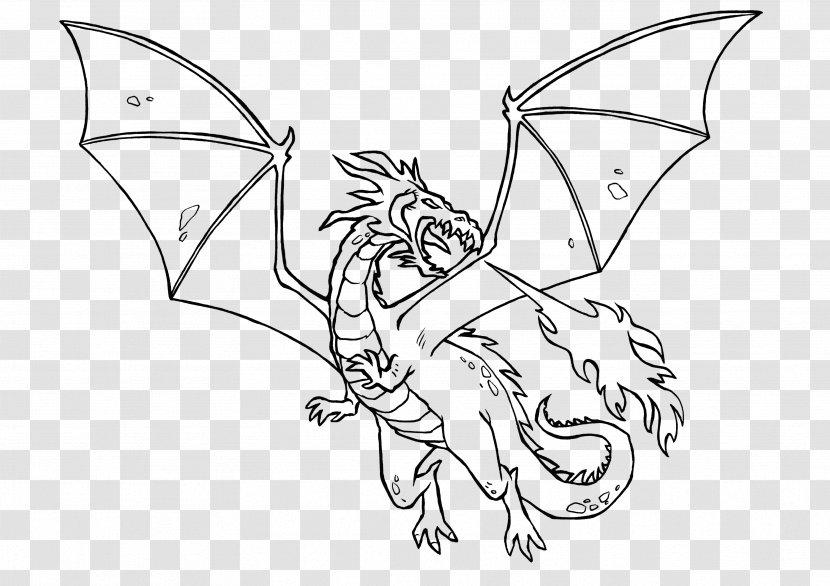 Ausmalbild Dragon Knight Legendary Creature Fairy Tale Fisch Transparent Png