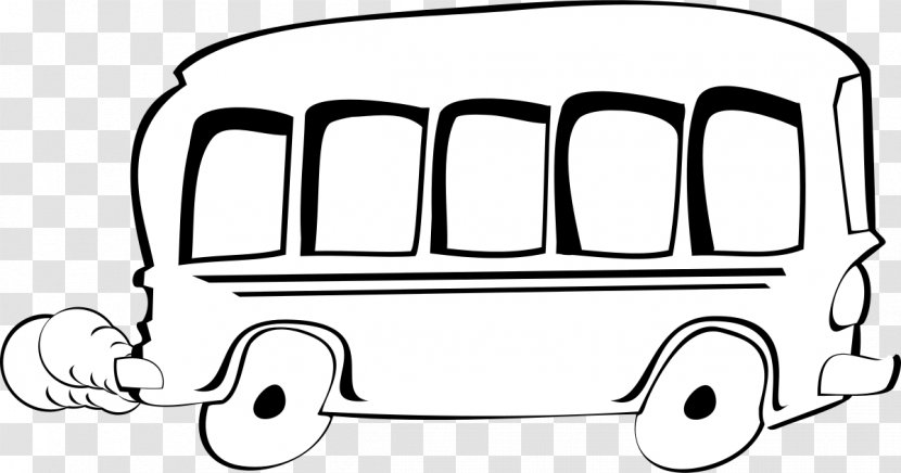 School Bus Clip Art: Transportation Art - Motor Vehicle Transparent PNG