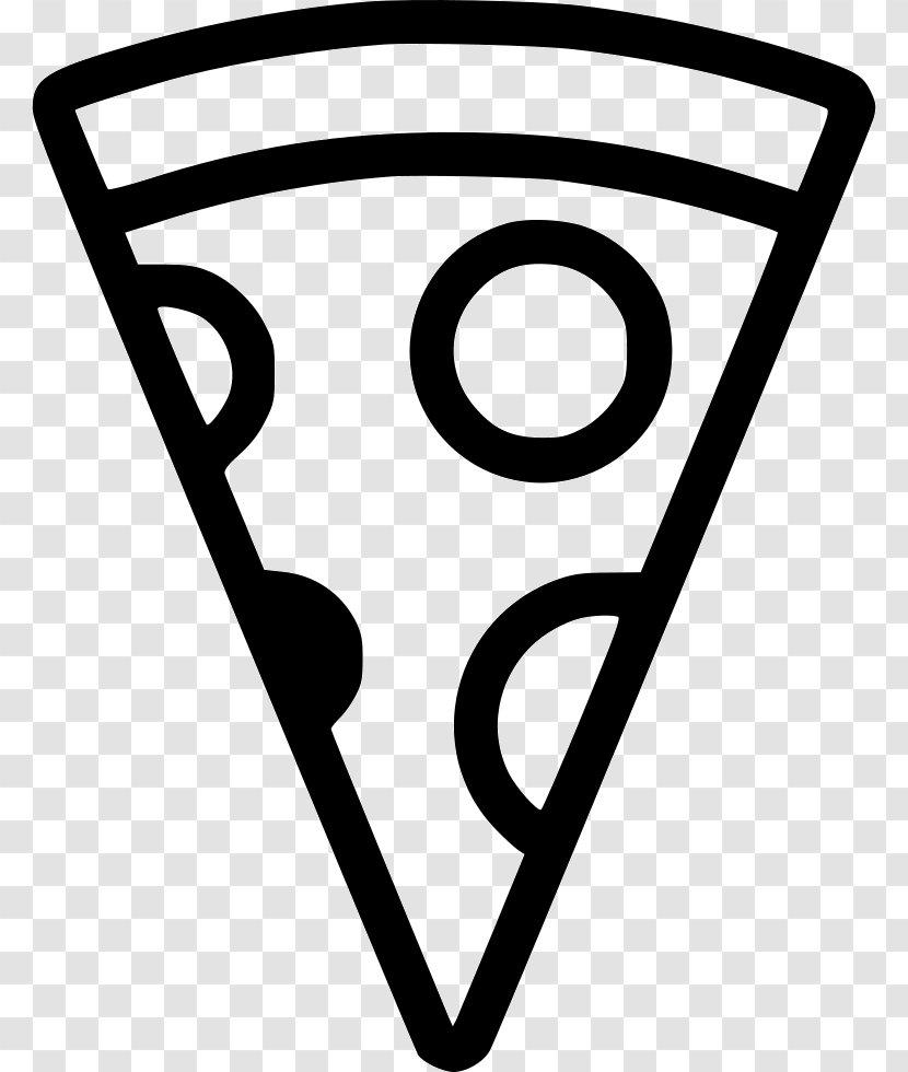 Clip Art Image Pizza - Text - Square Icon Transparent PNG