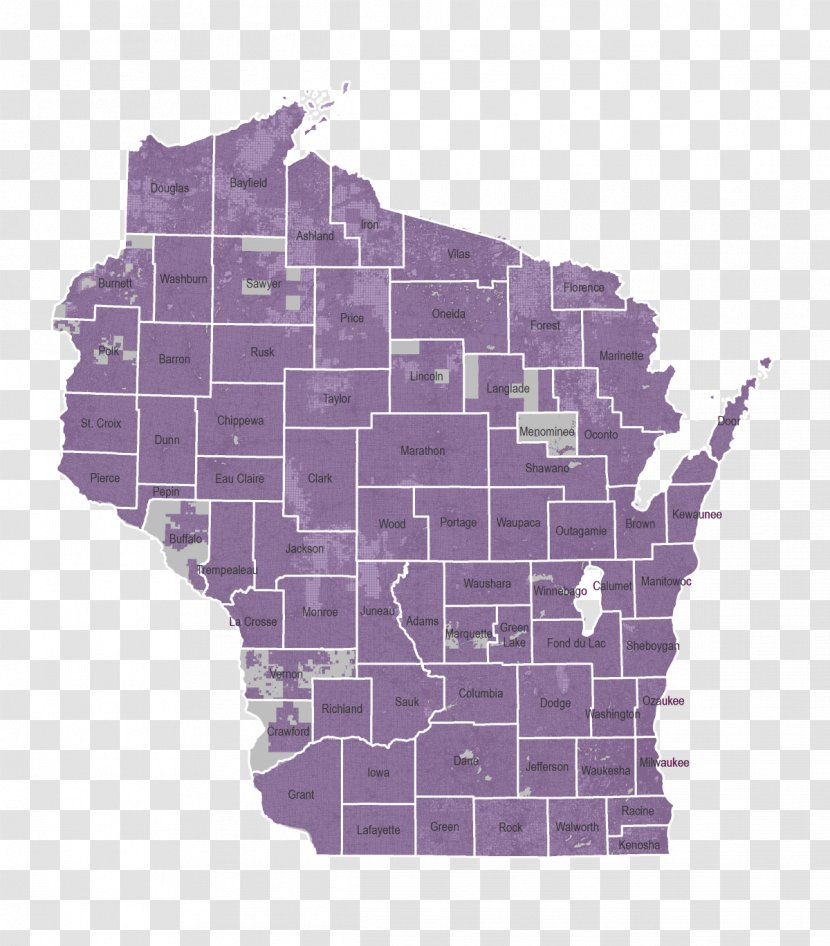 United States Presidential Election In Wisconsin, 2016 Wisconsin Elections, 2018 Gubernatorial Election, - Map Transparent PNG