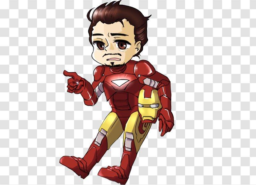 The Iron Man Cartoon Drawing Ironman Transparent Png