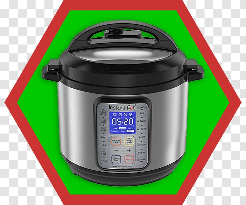 Instant Pot Duo Plus 9 In 1 Quart Electric Pressure Cooker Slow Cookers Bellied Pig Transparent