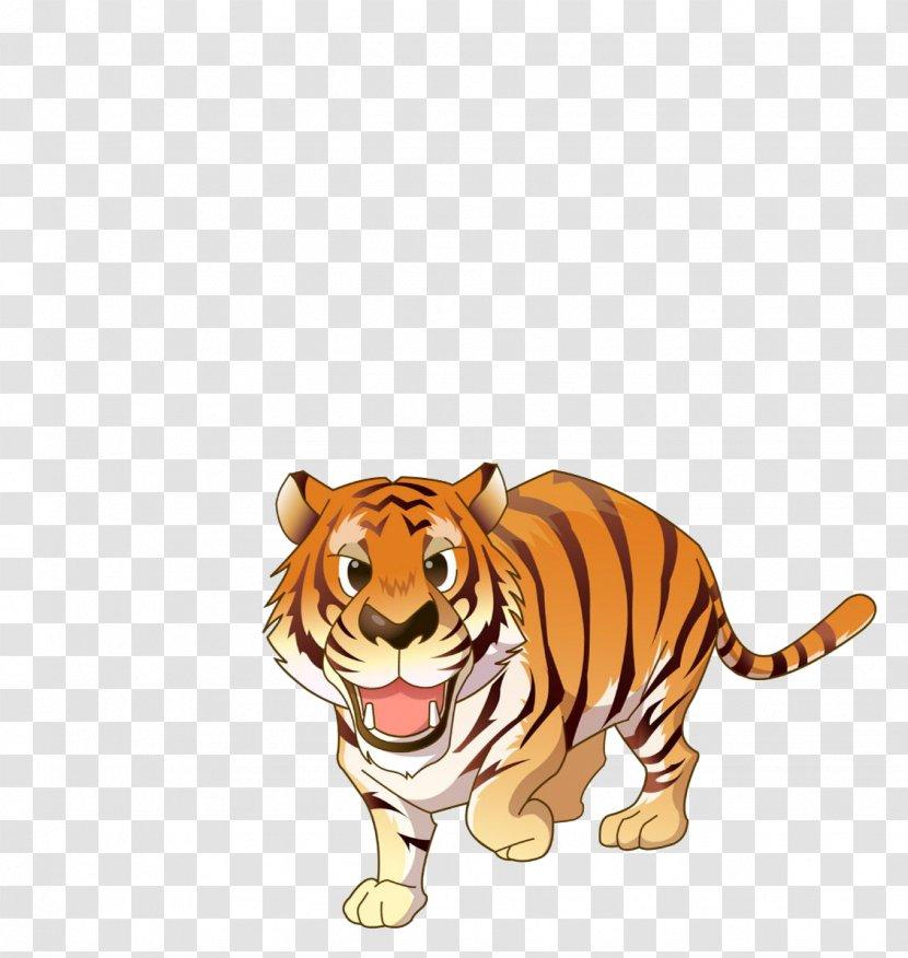 Baby Jungle Animals Zoo Giraffe Clip Art - Website - Tiger Transparent PNG