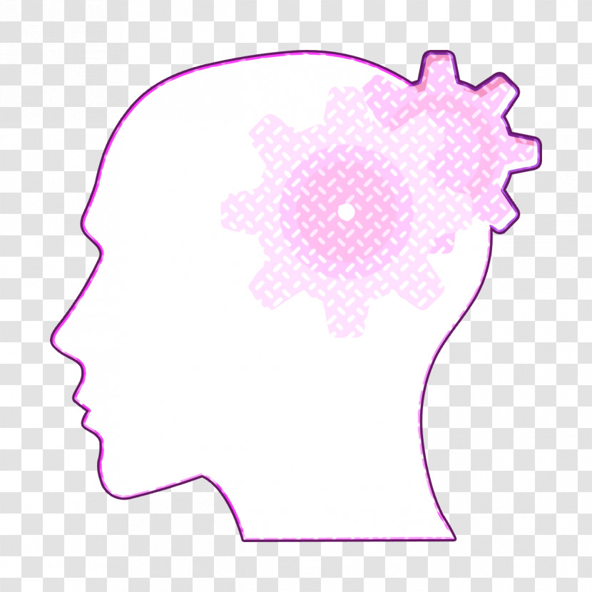 Thinking Icon Human Mind Icon Brain Icon Transparent PNG