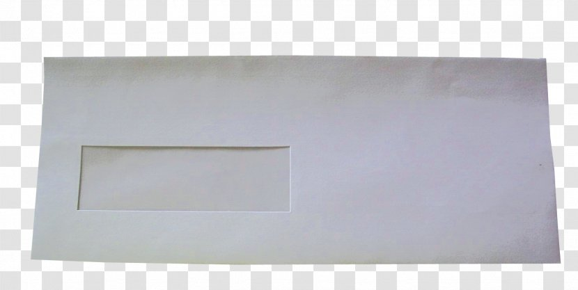 Product Rectangle - Envelope WhiTE Transparent PNG
