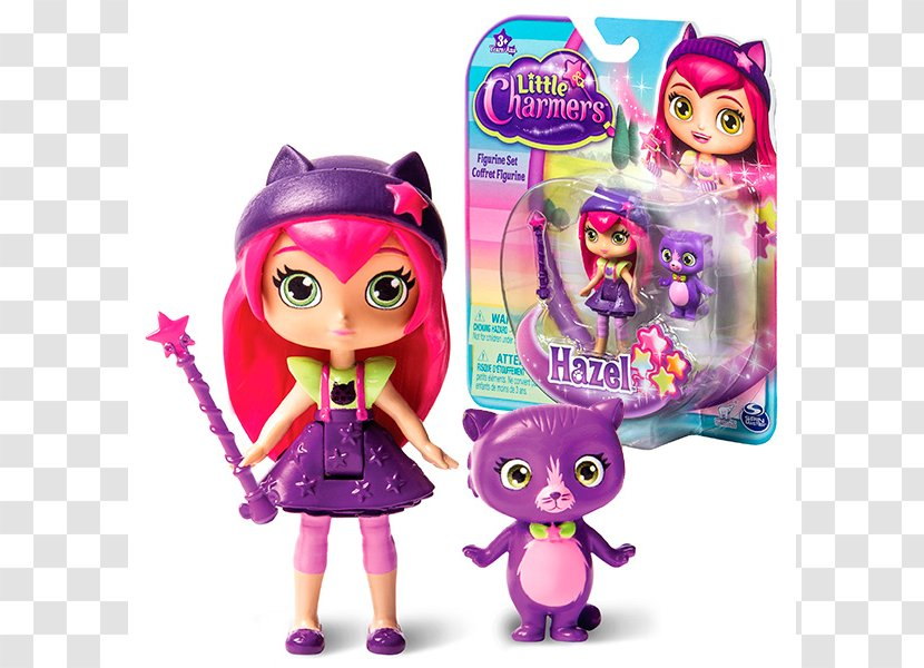 Toys R Us Doll Little Charmers Hazel Magic Action Toy Figures Magenta Transparent Png