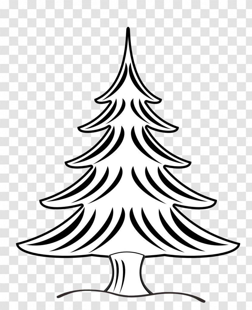 Christmas Tree Drawing Clip Art Fir Flowers Clipart Transparent Png