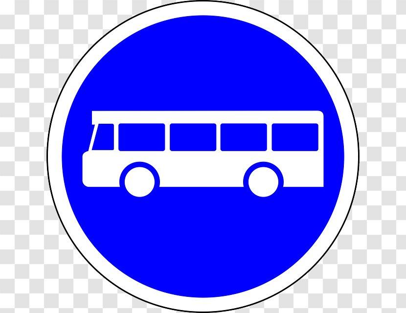 Bus Lane Traffic Sign Stop Interchange Transparent PNG