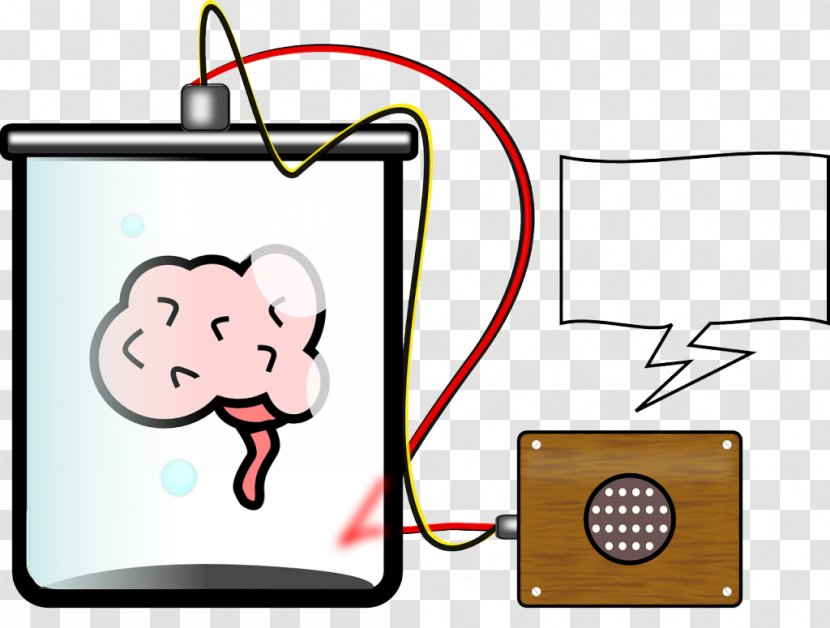 Blue Brain Project In A Vat Clip Art Cartoon Memories Clipart Transparent Png