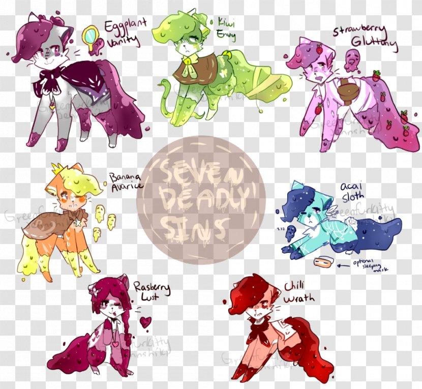 Horse Pink M Character Clip Art Transparent PNG