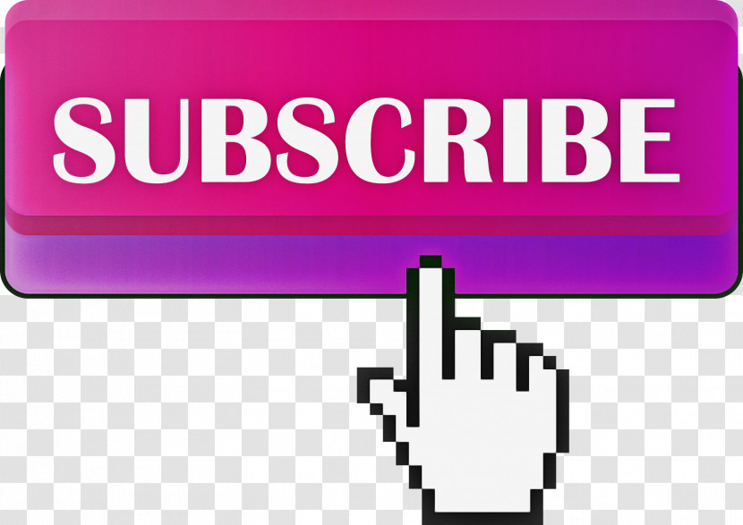 Subscribe Button Youtube Subscribe Button Transparent PNG