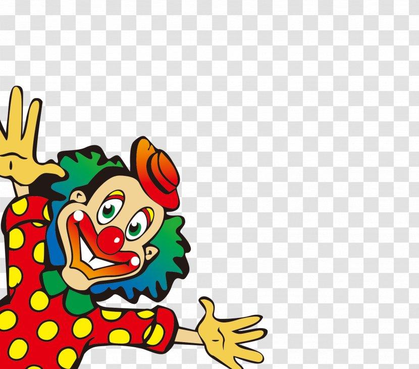 April Fools Day 1 Festival Joke - Cartoon Clown Transparent PNG