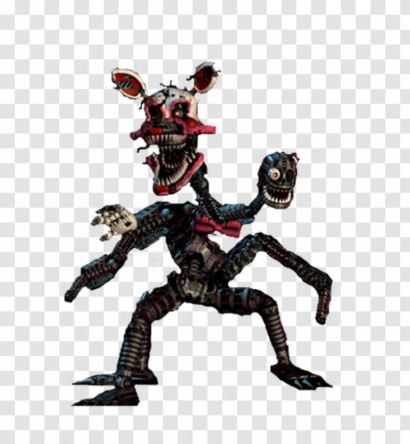 Five Nights At Freddy S 4 Freddy S Sister Location 2 Nightmare Mangle Freddy S Foxy Transparent Png