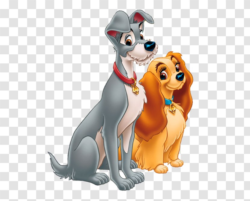 Lady And The Tramp Cartoon Walt Disney Company Drawing Vertebrate Free Picture Transparent Png