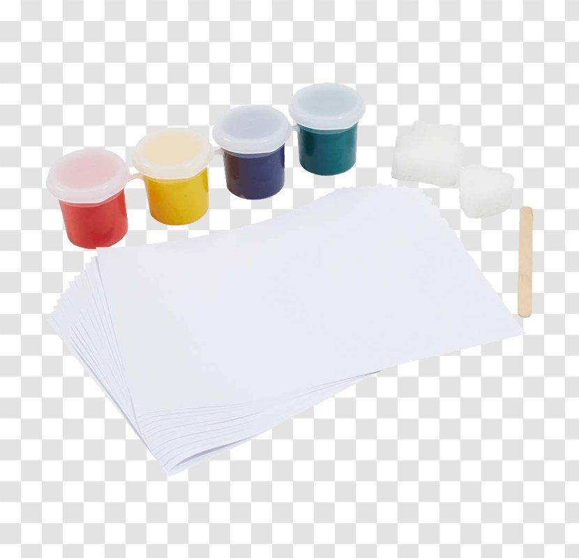 Plastic - Finger Paint Transparent PNG