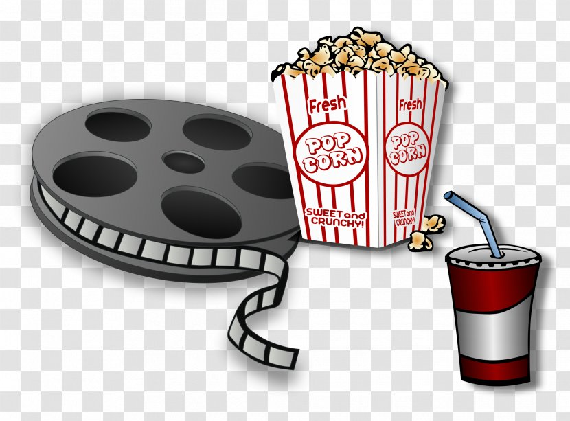 Film Reel Cinema Clip Art - Food - Movie Time Cliparts Transparent PNG