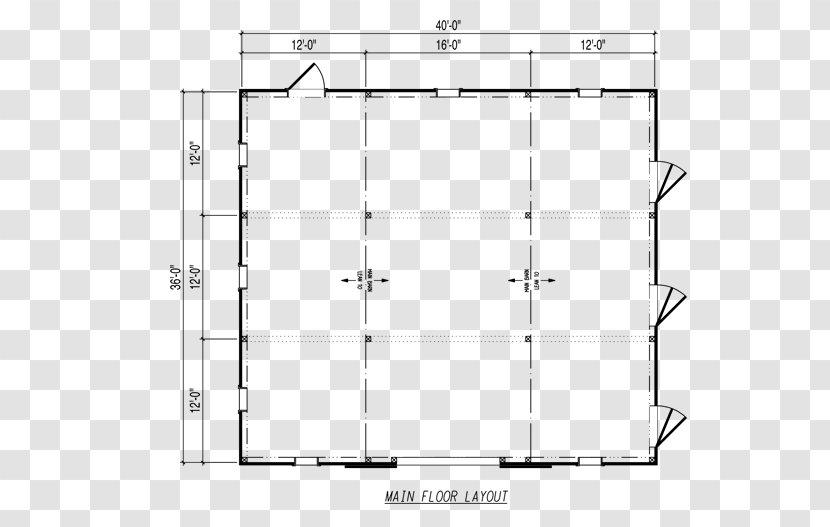 Horse Floor Plan Barn Furniture Symmetry Sand Transparent Png