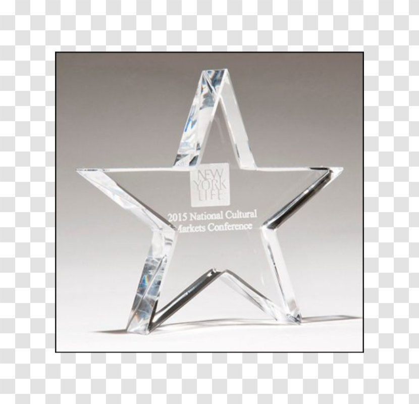 Paperweight Promotional Merchandise Engraving - Triangle - Glass Trophy Transparent PNG