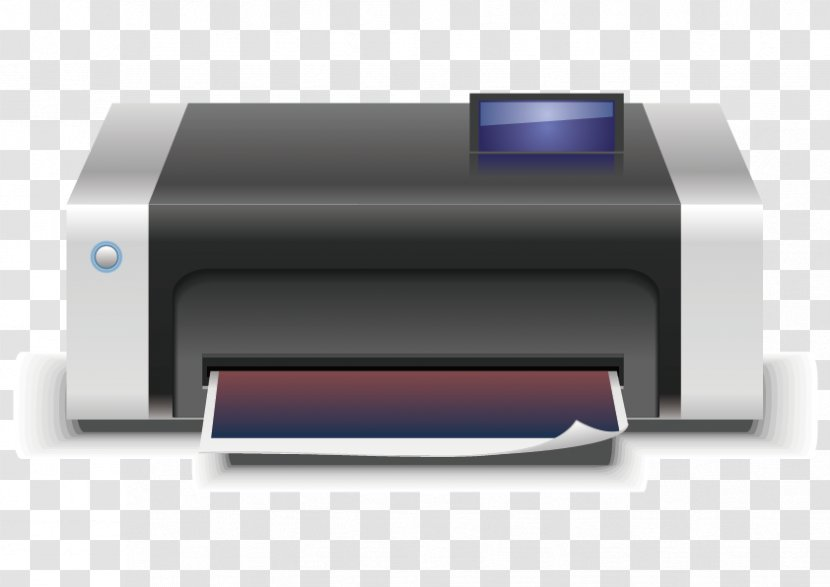 printer euclidean vector icon technology transparent png printer euclidean vector icon