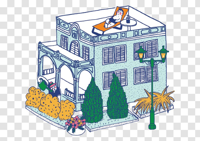 Macau Government Tourist Office Illustration Cartoon House Building Art Cultural Affairs Bureau Transparent Png