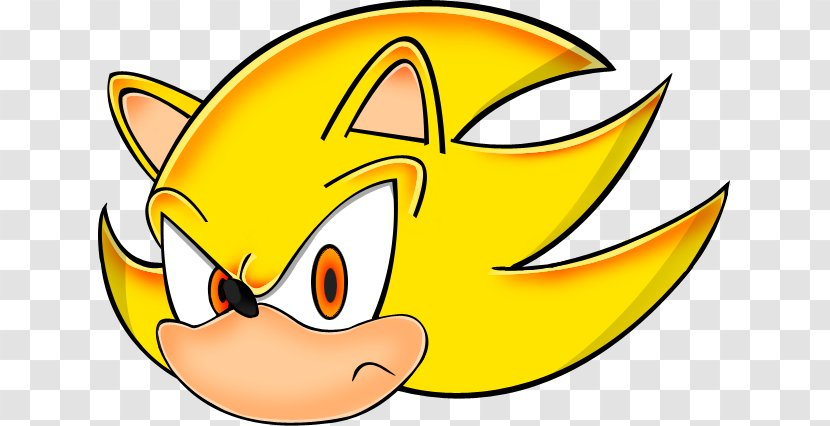Sonic The Hedgehog Shadow Super Clip Art Smile Birthday Airplane Transparent Png