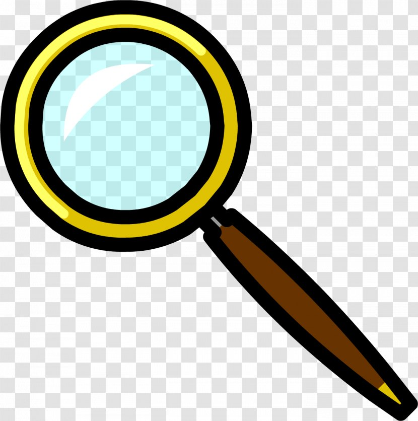 Club Penguin Magnifying Glass Wiki Clip Art - Body Jewelry Transparent PNG