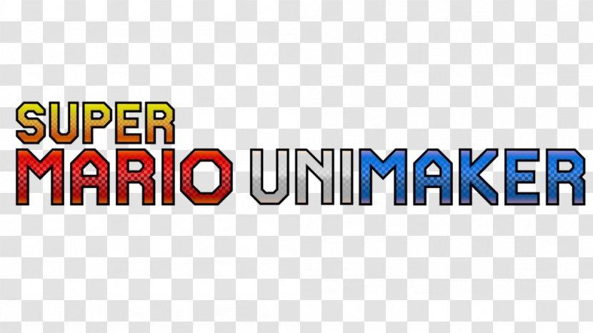 Super Mario Unimarker Maker Bros Logo Run Game Transparent Png