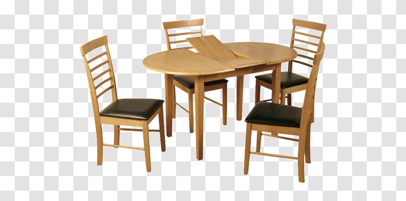 Table Dining Room Chair Matbord Solid Wood Transparent PNG