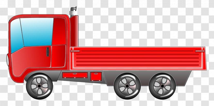 Pickup Truck Car Light Clip Art Transparent PNG