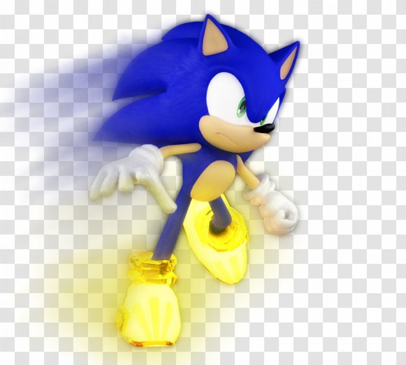 Sonic Unleashed Forces The Hedgehog Shoe Adventure 2 Figurine Transparent Png