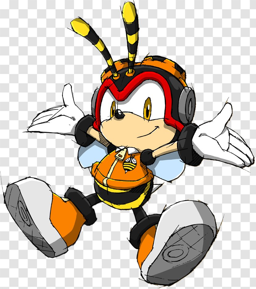 Sonic Heroes Charmy Bee The Hedgehog Espio Chameleon Vector Crocodile Chaotix Detective Agency Shadow Transparent Png
