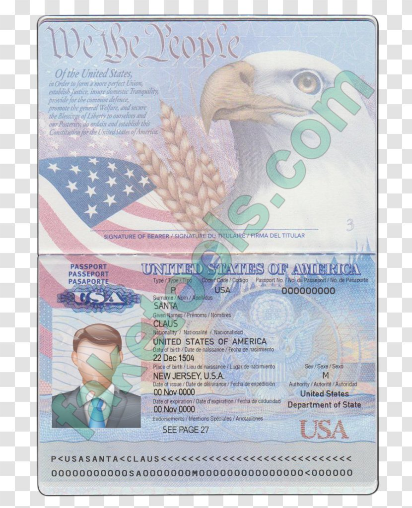 United States Of America Passport Canadian Fake Advertising