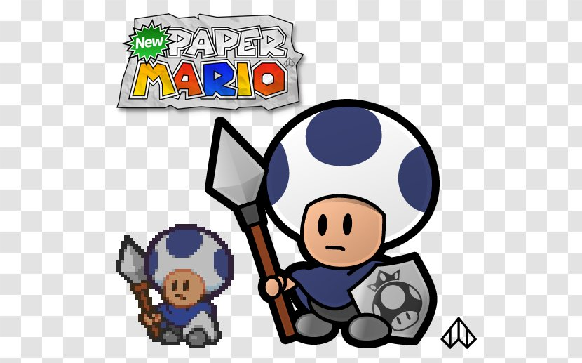 New Super Mario Bros Toad Paper Mario Sticker Star Luigi