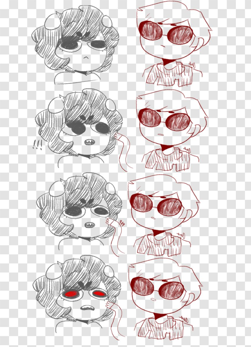 Glasses Eye Visual Arts Sketch - Heart Transparent PNG