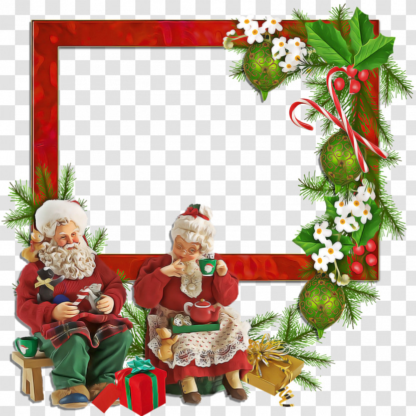 Christmas Frame Christmas Border Christmas Decor Transparent PNG
