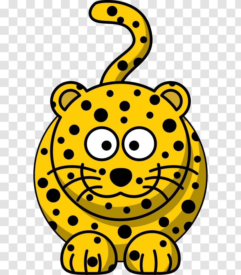 Leopard Felidae Cartoon Clip Art - Hippo Pictures Transparent PNG